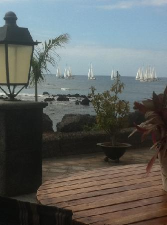 las piratas: What a view from my table- priceless