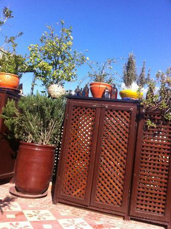 Terrasse du Riad Andalla