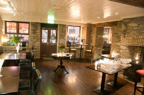 Inside the Bull's Head Restaurant
