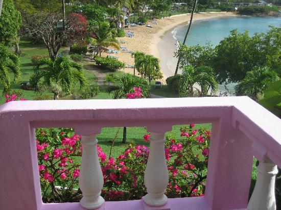 Hawksbill by Rex Resorts: Vista spiaggia dalla reception/ristorante