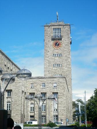 Königstraße: Torre della stazione