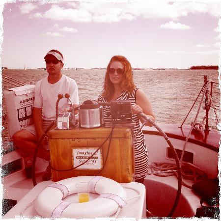 Classic Harbor Line: me sailing