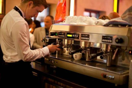 Brunnenhof Cafe & Bar : Coffee @Brunnenhof Café & Bar, Trier
