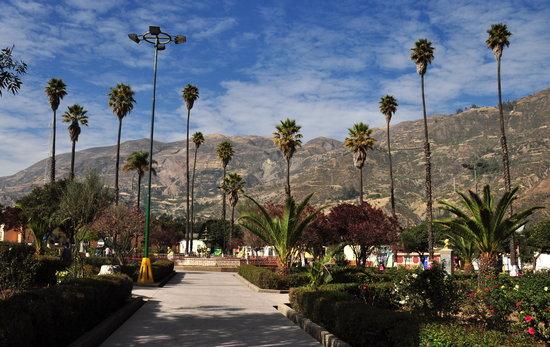 Carhuaz, Peru: Plaza de Armas