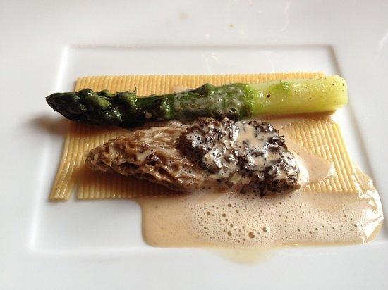 Apicius: asperge et morille