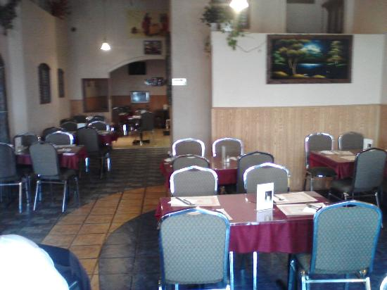 Indian Punjabi Clay Oven: interior of the India Clay Oven restaurant
