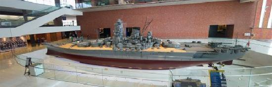 Yamato Museum: модель ямато 1:10