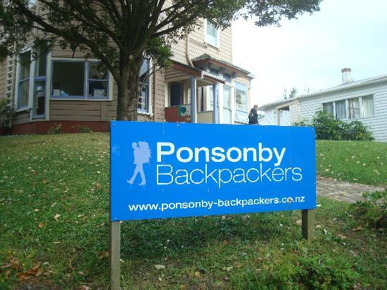 Ponsonby Backpackers: From the front side