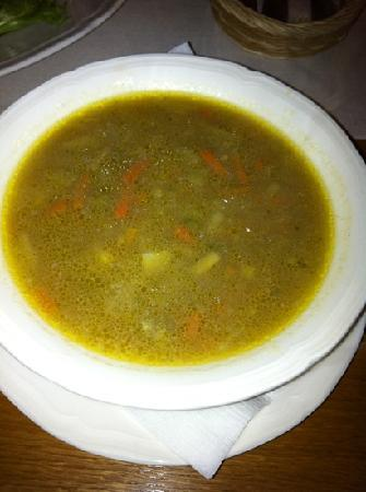 Galimatias: cumin soup