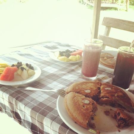 Organic Mulberry Farm Restaurant: yummy pancakes