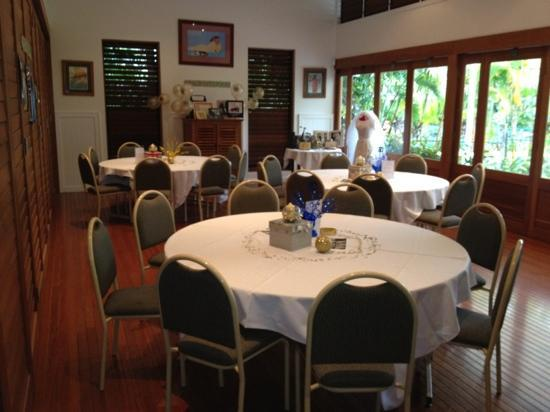 South Pacific Resort Noosa: private function room. they also have a large one too...