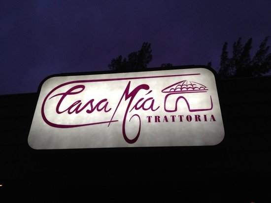 Casa Mia Trattoria: excellent Italian restaurant - n miami