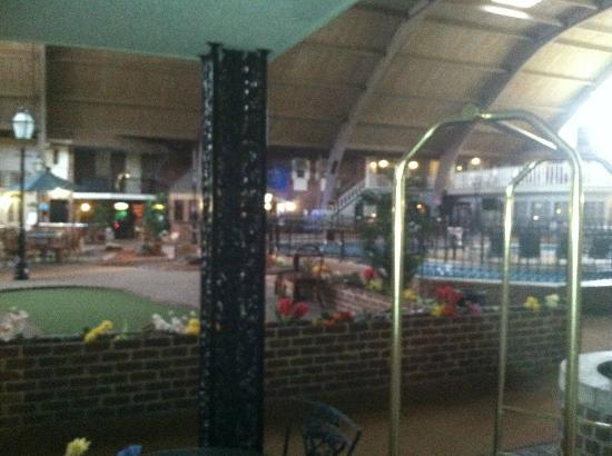 Howard Johnson Burlington : Dome / Indoor Pool Area