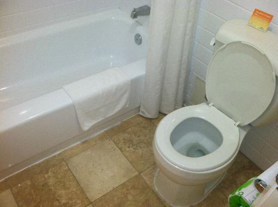 Howard Johnson Burlington : Bathroom