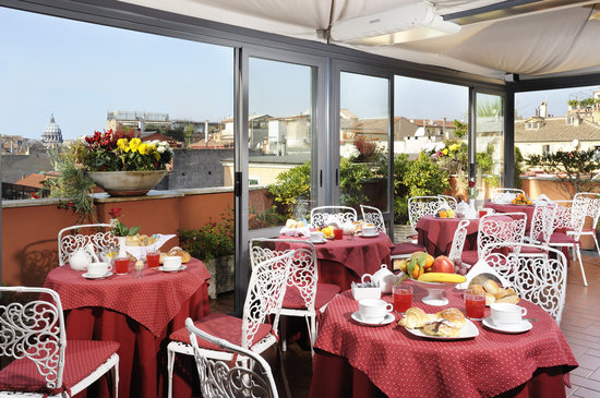 Hotel Madrid : Roof-garden with view
