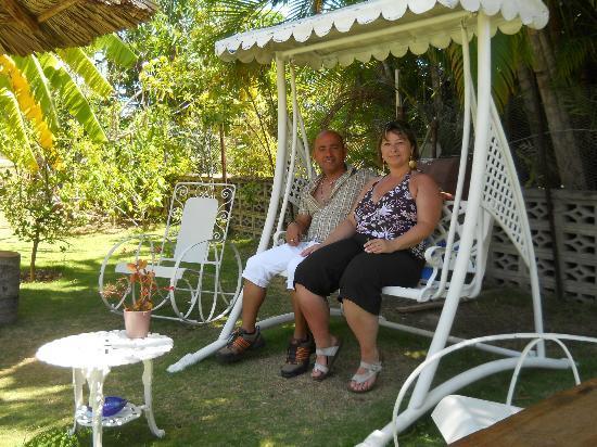 Casa Carlos Y Ana Maria: Dondolo Nel Patio