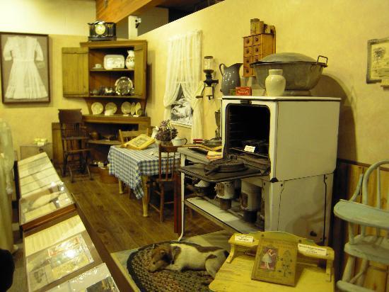 Runestone Museum: Settler/Pioneer home