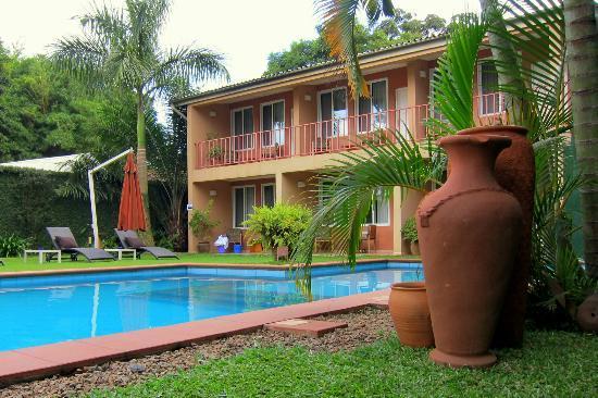 Urban by CityBlue Kampala, Uganda: Mamba Point rooms and pool