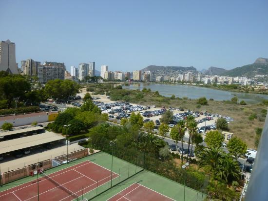 Apartamentos Turmalina Unitursa: Vista de las Salinas desde el apartamento 47B