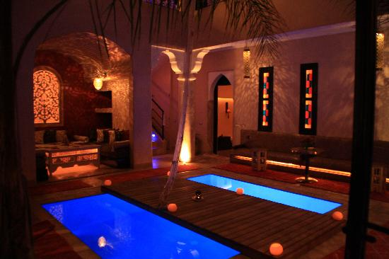 Le spa picture of mythic oriental spa marrakech for Salon oriental