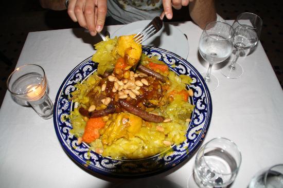 Le jardin d'Abdou: couscous
