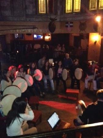 Trad & Bodhran session in Kyteler's Inn