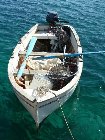 Le Sirene Hotel: barca pescatore