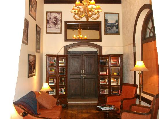 Ilbert Manor: Private library