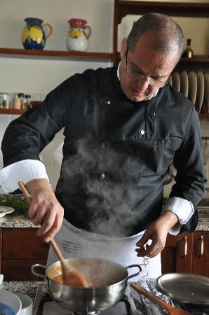 Mamma Agata - Cooking Class : Gennaro and his passion...cooking!!!