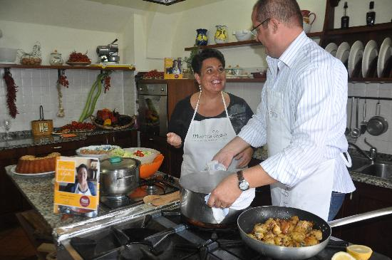 Mamma Agata - Cooking Class : Chiara and Gennaro and their love for cooking