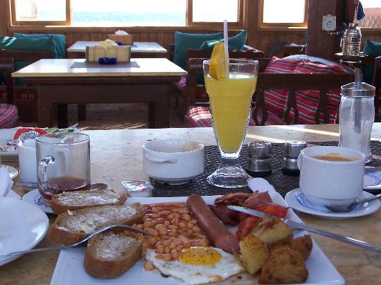 Ghazala Hotel: Breakfast