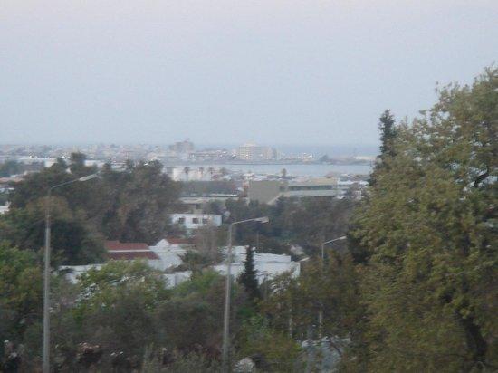 Panorama : Aussicht nach Links (Rhodos und Hafen)