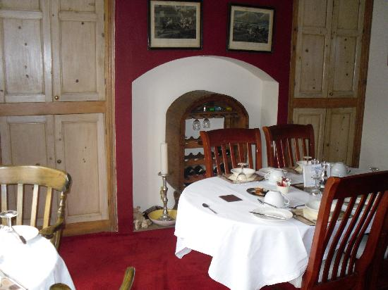 The Gateway at Hest Bank: Cosy dining room