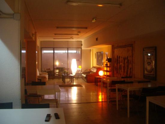 Sol Hostel : Common Area - Living room