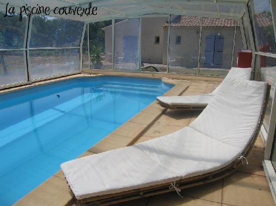 Les Galines : La piscine