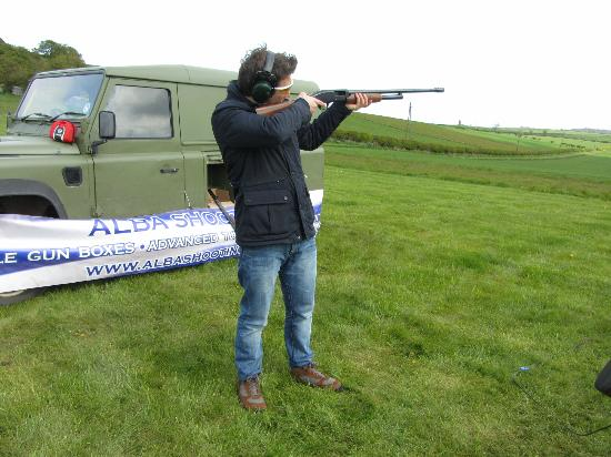 Fenton Tower: Clay pigeon shooting