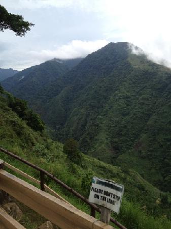 Hoyohoy Highland Stone Chapel Adventure Park: love this scenery of Mt. Malindang