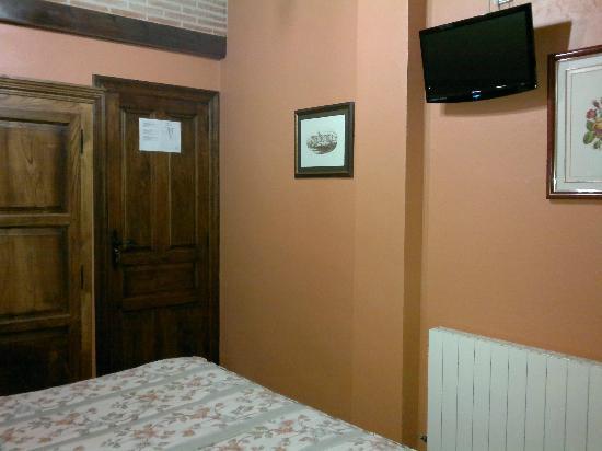 Posada Herran: habitacion desde la cama