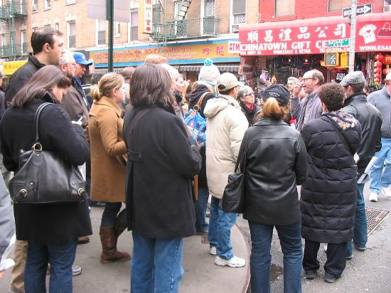 Lower East Side History Project Walking Tours: Rob on tour