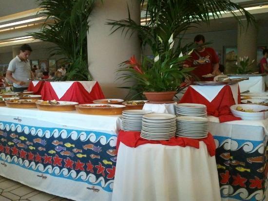 Club Lipari Hotel : Buffet entrées