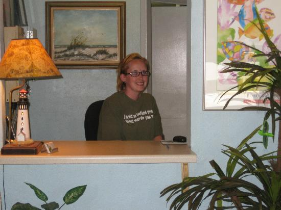 Sea Breeze Suites: Friendly staff.