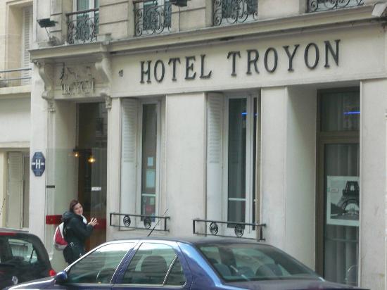 Hotel Troyon : entrata hotel