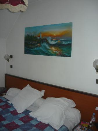 Hotel Troyon : camera