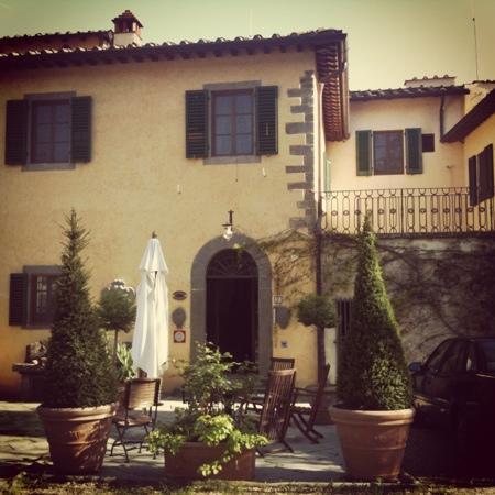 Villa Rigacci: la villa