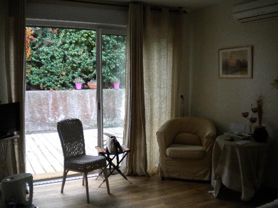 bedroom at Le Jardin de la Cite