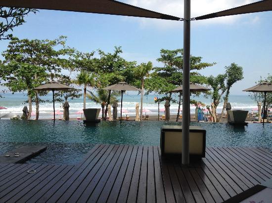 Anantara Seminyak Bali Resort: View from breakfast