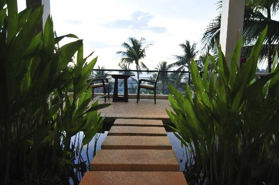 Ayara Hilltops Resort and Spa: Suite entrance in Super Deluxe Courtyard Seaview Suite