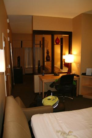Cambria hotel & suites Denver International Airport: The suite.