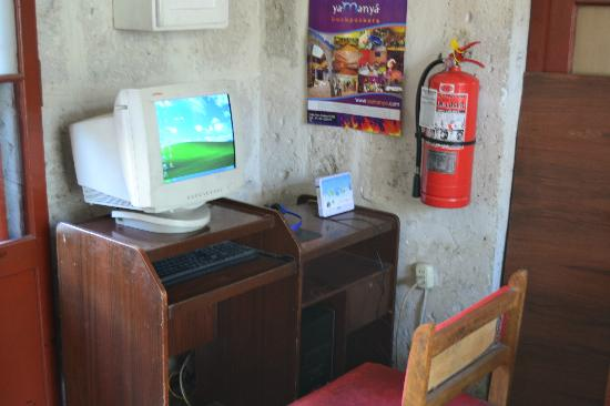 Samana Wasi: Old PC but still convenient access to the Internet