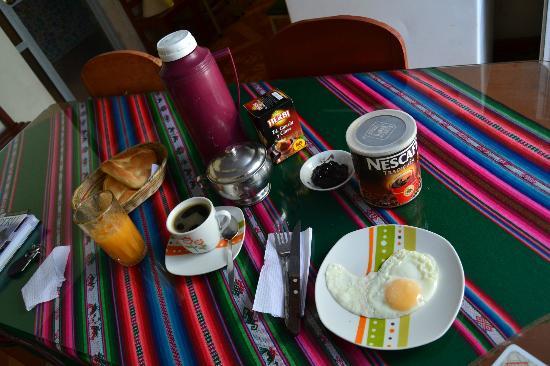 Samana Wasi: Excellent breakfast